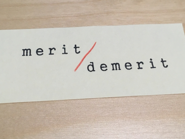 Merit & Demerit